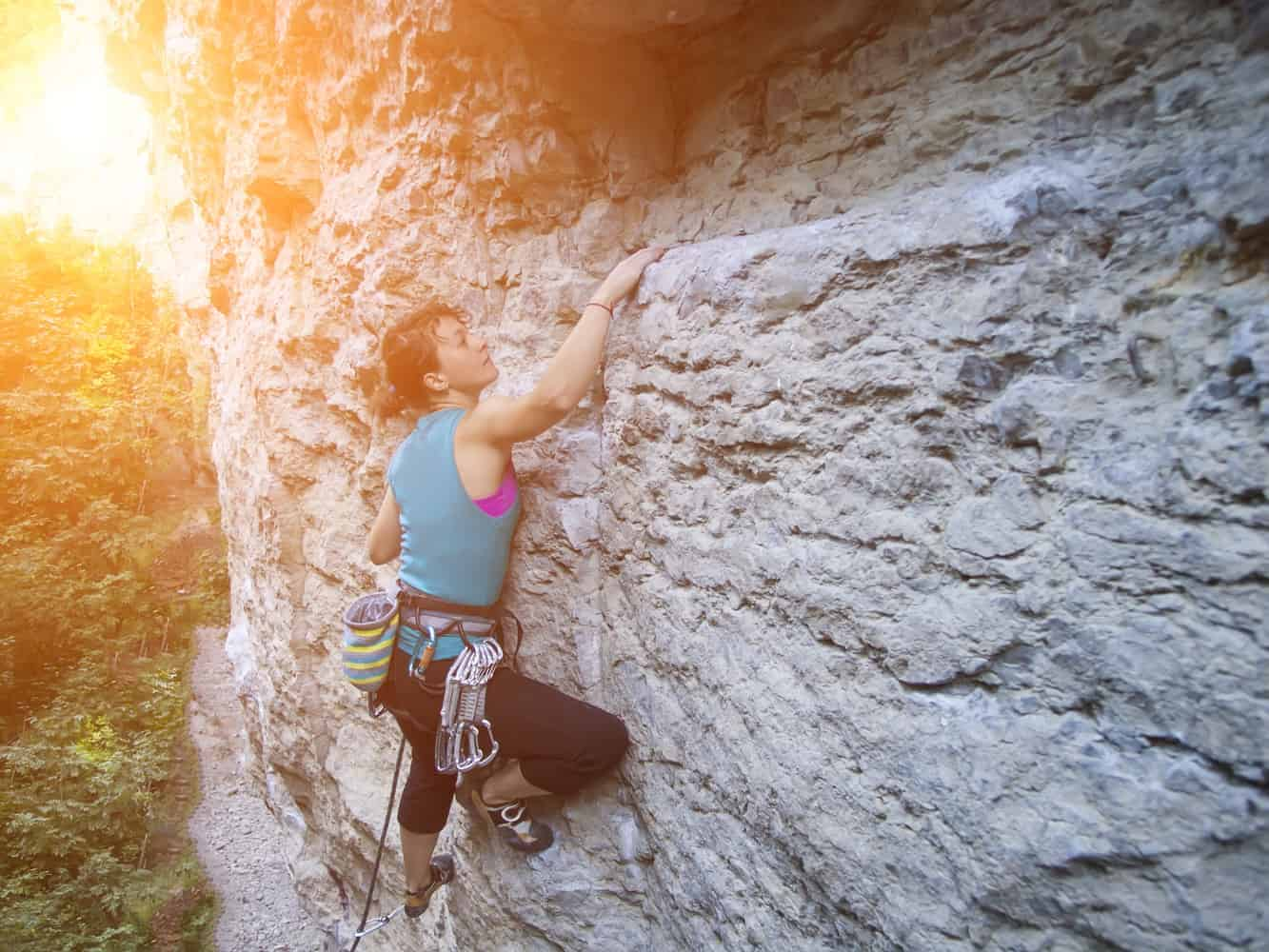 outdoor rock climbing locations
