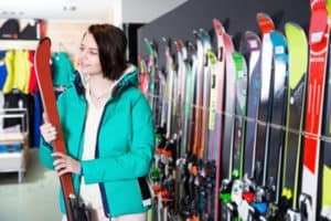 buying skis